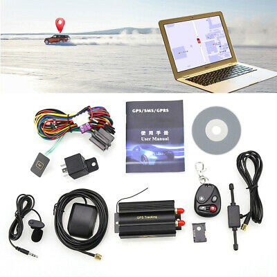 Genuine New GPS/SMS/GPRS Tracker TK103B Vehicle Tracking System With Remote