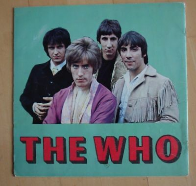 "The Who rare north american tour program from ""The Who Sell Out"" Tour 1968"