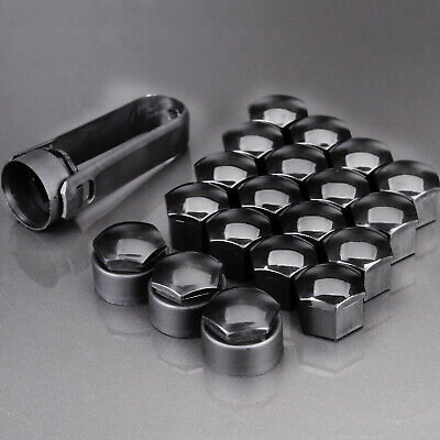 MINI ONE COOPER R55 R56 R57 RED WHEEL NUT BOLT COVERS CAPS 17mm x 20