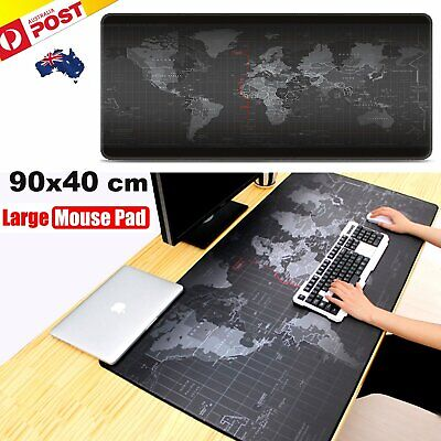 40x90cm World Map Pattern Large Size Gaming Mouse Pad Desk Mat Extended Mousepad
