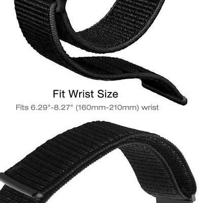 Nylon Loop Watchband Quick Release Strap Band For Garmin Fenix 5X Fenix 5