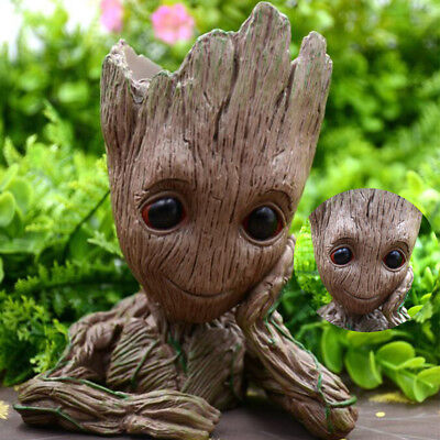 Neu Guardians of the Galaxy BABY GROOT FIGUR Blumentopf Pflanztopf Stil StiftPot