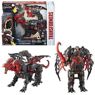 Hasbro C0934 Transformers Movie 5 Mega Turbo Changer Dragonstorm Figur Roboter