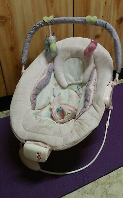 Bright Starts Comfort And Harmony Cradling Bouncer Penelope Petals  RRP $ 150 +