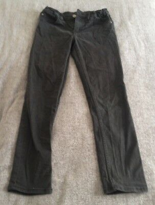H&m Boys Black Skinny Fit Stretch Jeans Eur 146 Age 10-11 Years.