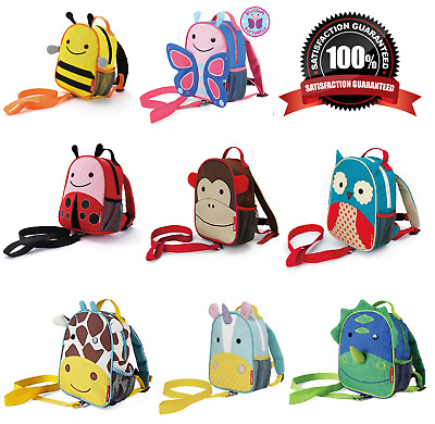 Skip Hop Zoo-let Toddler / Child Backpack / Daysack Bag With Reins - All Themes⭐