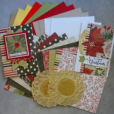 """sale"" Kaisercraft Christmas Carol 6X6 Card Paper Pack 24 Sheets Cardmaking"