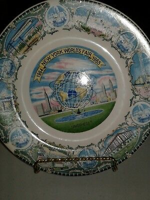 1964-1965 New York Worlds Fair  Unisphere Plate