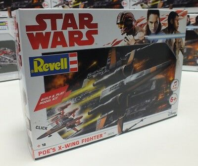 "Star Wars, Poe's X-Wing Fighter, Revell 06576 ""NEU OVP"""