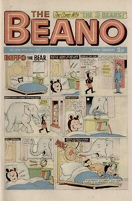 The Beano Comic #1636 November 24th 1973 - very good condition