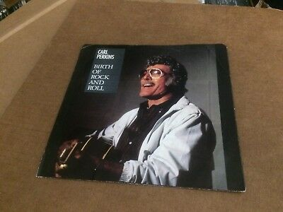 "Carl Perkins The Birth Of Rock And Roll  Pic Sleeve Only No Record  7""  C4"