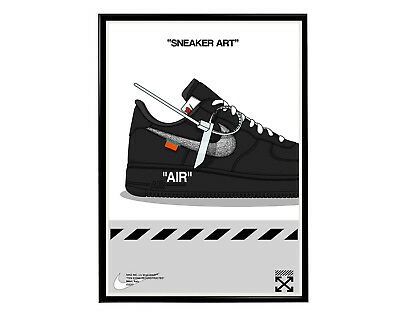 7d5ab89c7b0a8 Off White Sneaker Poster