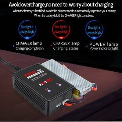 HotRC E350 2s 3s Cells 100-240V AC Lipo Battery Charger 25W For RC Battery NS