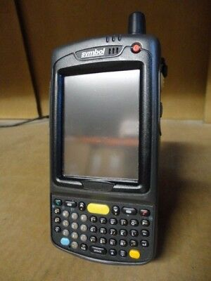 Motorola Symbol MC7004-PUCDJQHA70R Barcode Scanner Mobile Computer Pocket PC