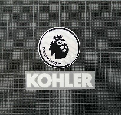 Premier League Patches/Badges 2018-2019 & KOHLER Manchester United Home Shirt