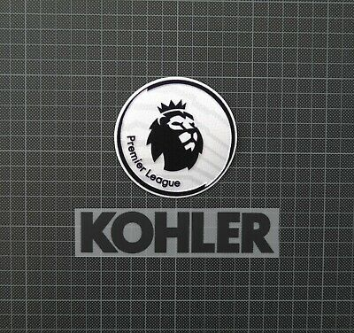 Premier League Patches/Badges 2018-2019 & KOHLER Manchester United Away Shirt