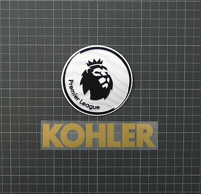 Premier League Patches/Badges 2018-2019 & KOHLER Manchester United 3rd Shirt
