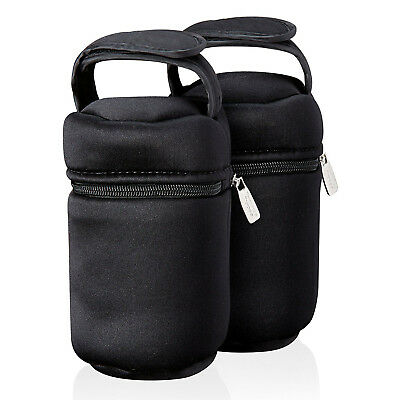 Tommee Tippee Closer to Nature Bottle Bag Warmer Carriers Baby Feeding Pack of 2