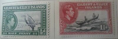 Gilbert and Ellice Islands Scott # 40-48 mint hinged 1937