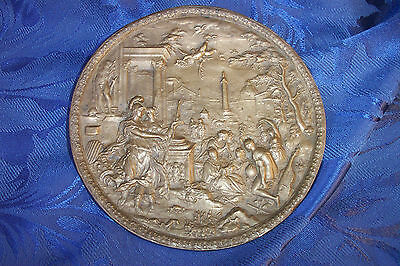 Late 17th early 18th Cent BRONZE ITALIAN GERMAN Antique Plaque COTTERILL MUSEUM