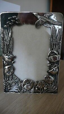 MASJ silver plated silver scenes photo frame-QUALITY