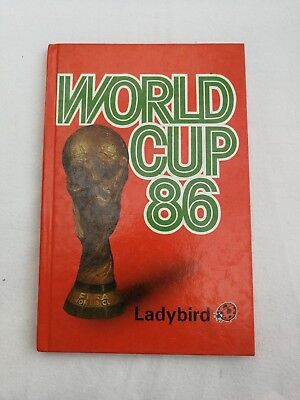 "Rare 1986 Ladybird Book ""WORLD CUP 86"" Excellent Condition"