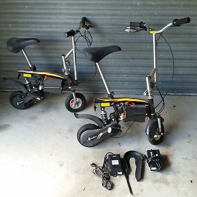 Electronic 12 Volt Scooters. Unbranded Snap On A Bid