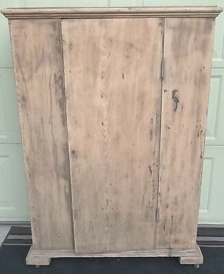 ANTIQUE Primitive FARMHOUSE pie/ jelly cupboard/cabinet-4 shelves;NO SHIPPING
