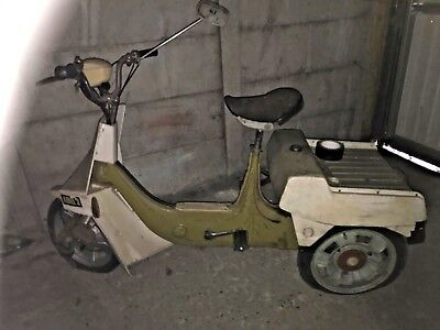 BSA Ariel 3 Tricycle Moped Scooter - Tilting - 50cc - 3 wheels