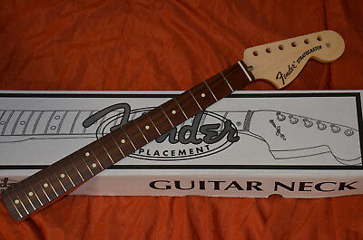 FENDER STRATOCASTER 1970s VINTAGE NECK*PERFECT F.1972-79 STRATS*LARGE HEADSTOCK*