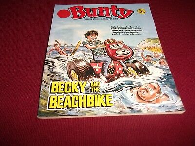 EARLY BUNTY PICTURE STORY LIBRARY BOOK from 1980's: never been read! ex condit!