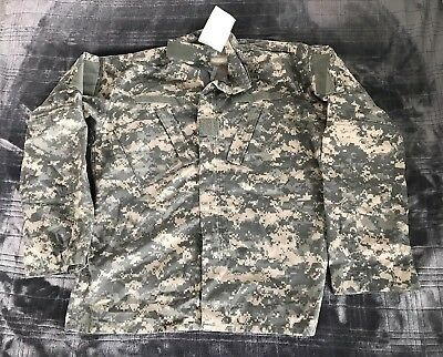 Us Army Acu Ucp Digital Combat Uniform Coat Jacket Usg Meduim Long