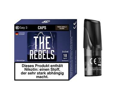 SC Easy 3 Caps - The Rebels - Tabak Vanille (2 Stück pro Packung)