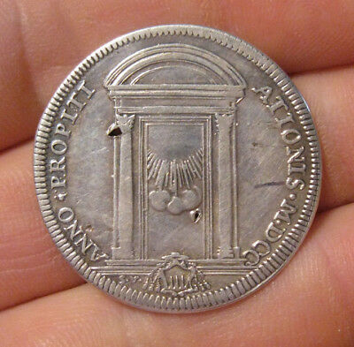 Papal States - 1700 Silver Testone - Innocent XII