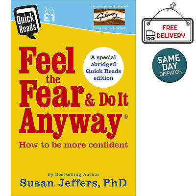 Feel the Fear and Do it Anyway Book Self Help Motivation Susan Jeffers Paperback