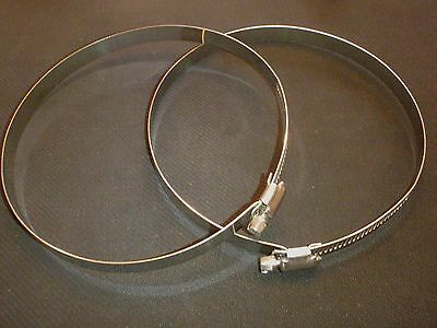 """2 Pc Stainless Steel 8"""" Hose Duct Clamp#  Hdc194-216"""