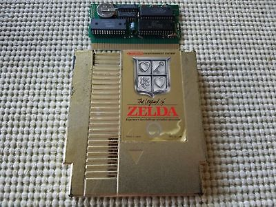 The Legend of Zelda (Nintendo Entertainment System, 1987) NES - Cart only Saves!