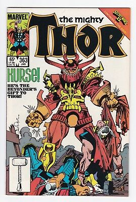 Marvel Comics: Thor #363/#364/#365/#366 - Four Issues!