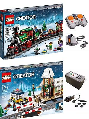 Lego 10254 Holiday Train Christmas In Hand Brand New USPS Priority Ship