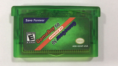 Multi-Cart 50 GameBoy GB & 50 GameGear games Gameboy Advance GBA! See List