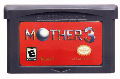 Mother 3 Earthbound Nintendo Game Boy Advance Gameboy GBA ENGLISH