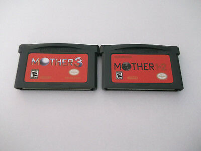 Earthbound Mother 1, 2 and 3 Game Boy Advance GBA Gameboy! ENGLISH