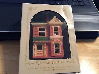 Hallmark Keepsake  Nostalgic houses Victorian Dollhouse 1984 1st in series