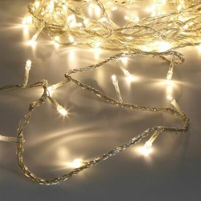 Warm White RGB LED Battery/Plug in Fairy Lights Bedroom Outdoor Indoor Xmas Part