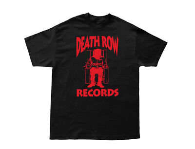 Death Row Records T Shirt Compton Dr. DRE Tupac Suge Knight Dogg Pound Snoop YG