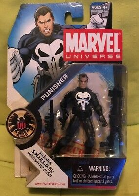 "Marvel Universe #020 Punisher 3.75"" Action Figure Brand New Hasbro 2008 Netflix"