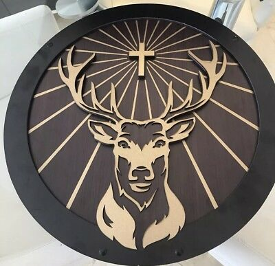 Jagermeister Bar  Wood  Sign 18 Inch New
