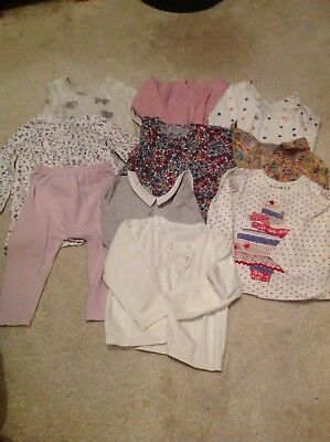 Girls 12-18 Months Bundle, Inc Next, M&S & Joules