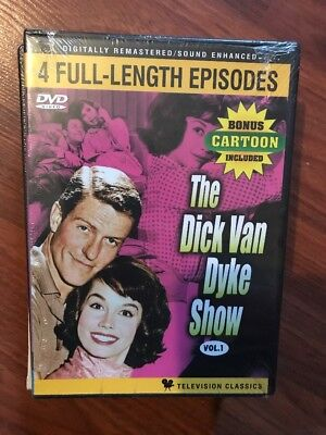 The Dick Van Dyke Show 4 Full-Length Episodes Mary Tyler Moore Rose Marie