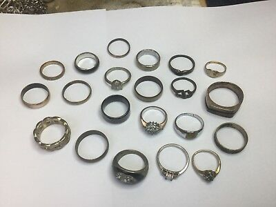 Assortment Of Rings. Metal Detecting Finds.